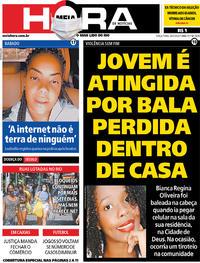 Capa do jornal Meia Hora 26/05/2020