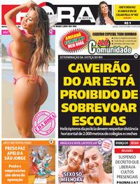 Capa do jornal Meia Hora 30/05/2020