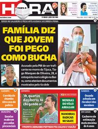 Capa do jornal Meia Hora 03/08/2021