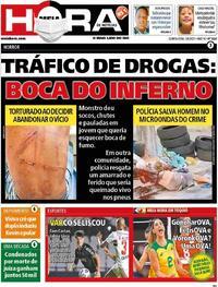 Capa do jornal Meia Hora 05/08/2021