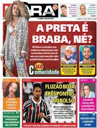 Capa do jornal Meia Hora 17/01/2021