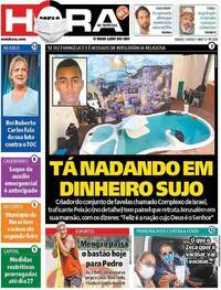 Capa do jornal Meia Hora 17/04/2021