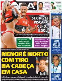 Capa do jornal Meia Hora 19/06/2021