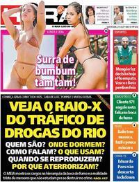 Capa do jornal Meia Hora 21/01/2021