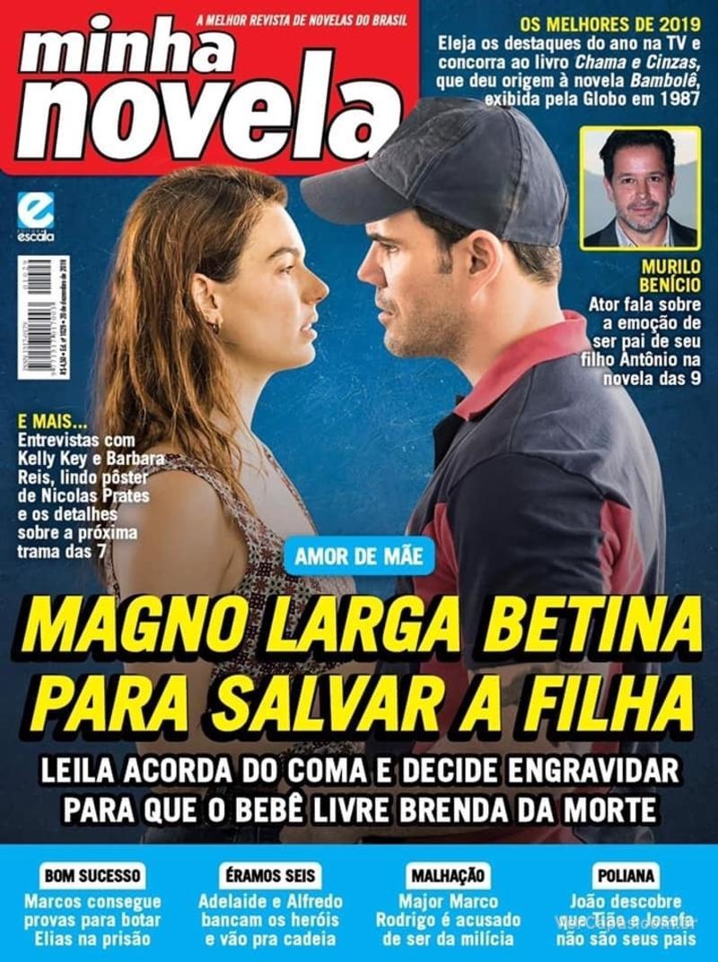 Capa revista Minha Novela 10/12/2019
