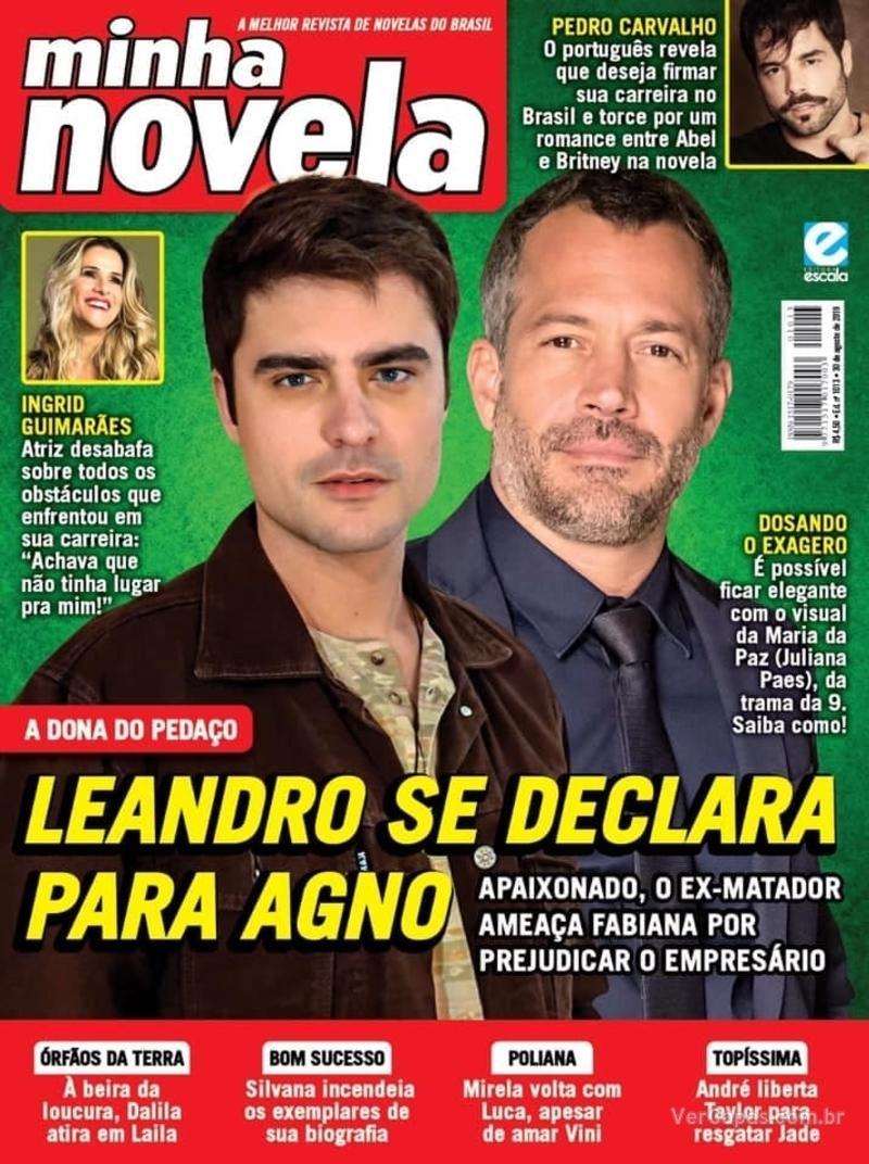 Capa revista Minha Novela 20/08/2019