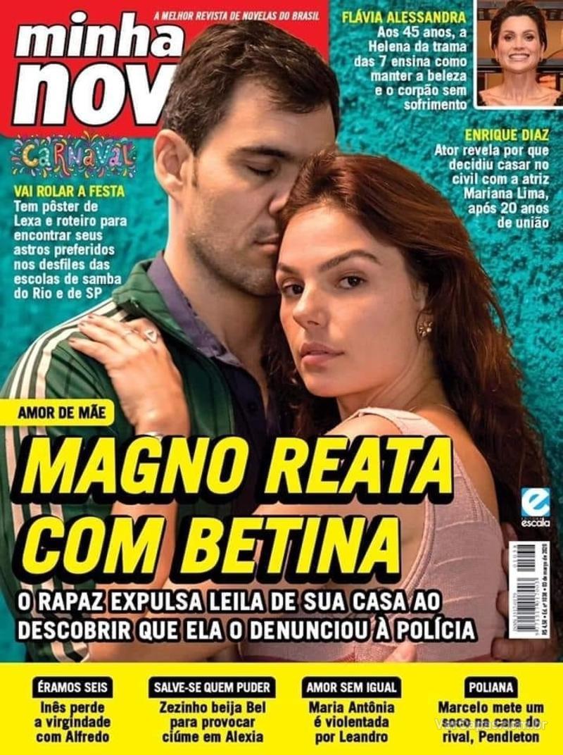 Capa revista Minha Novela 18/02/2020