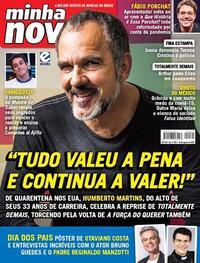 Capa da revista Minha Novela 04/08/2020