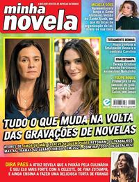 Capa da revista Minha Novela 11/08/2020