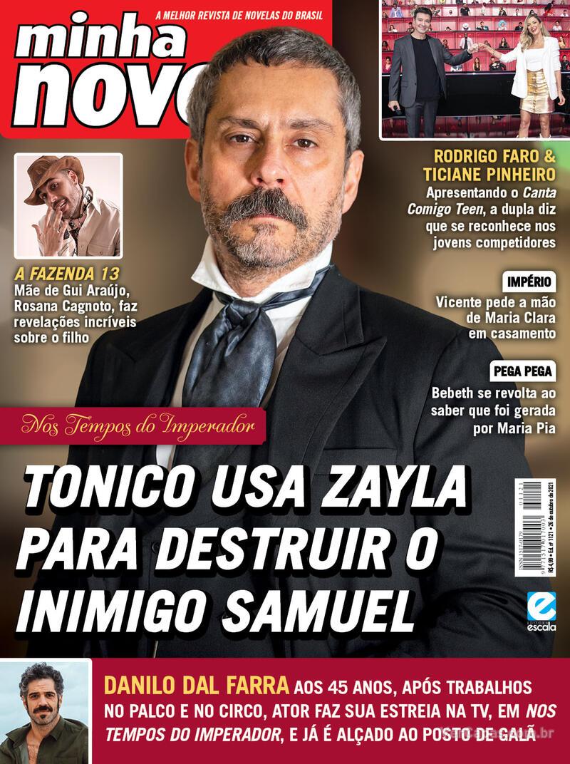 Capa da revista Minha Novela 12/10/2021