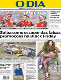 Capa O Dia 2017-11-20