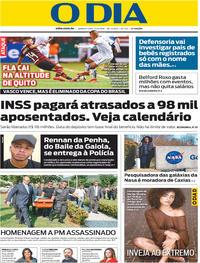 Capa O Dia 2019-04-25