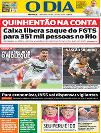 Capa O Dia 2019-10-17