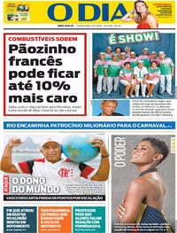 Capa O Dia 2019-11-20