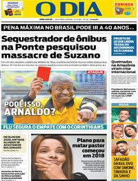 Capa O Dia 2019-08-23