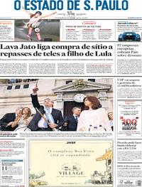Capa O Estado de Sao Paulo 2019-12-11
