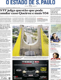 Capa O Estado de Sao Paulo 2019-11-20