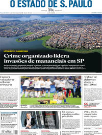 Capa O Estado de Sao Paulo 2019-06-24