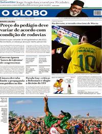 Capa O Globo 2019-06-24
