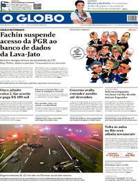 Capa do jornal O Globo 04/08/2020