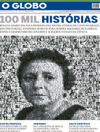 Capa do jornal O Globo 09/08/2020