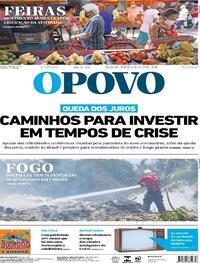 Capa do jornal O Povo 19/09/2020