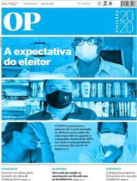 Capa do jornal O Povo 31/08/2020