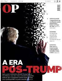 Capa do jornal O Povo 17/01/2021