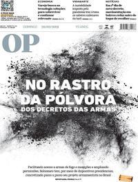 Capa do jornal O Povo 28/02/2021