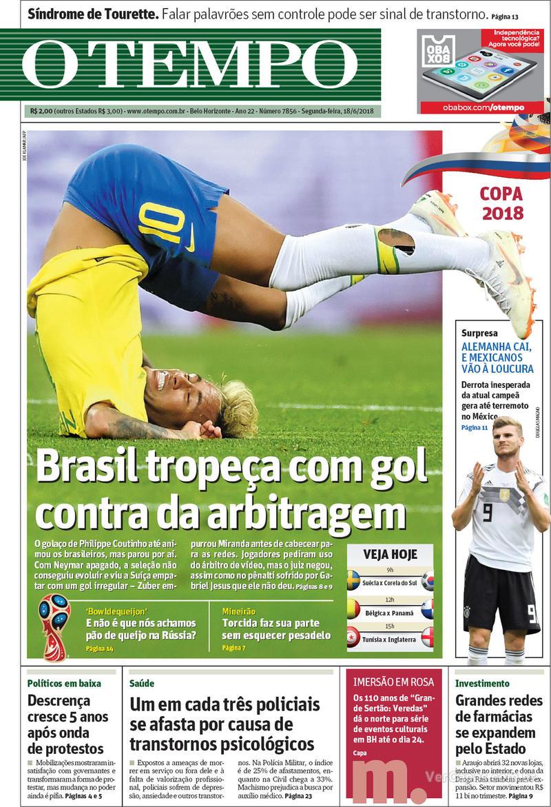 Capa O Tempo 2018-06-18