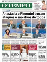Capa O Tempo 2018-08-17
