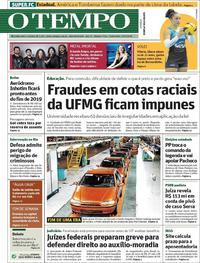 Capa O Tempo 2018-02-23