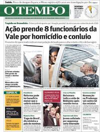 Capa O Tempo 2019-02-16
