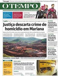 Capa O Tempo 2019-04-25