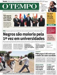 Capa O Tempo 2019-11-14