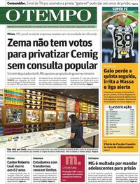 Capa Jornal O Tempo