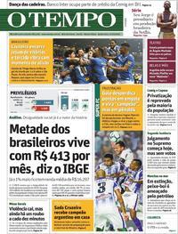 Capa O Tempo 2019-10-17