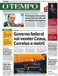 Capa O Tempo 2019-08-22