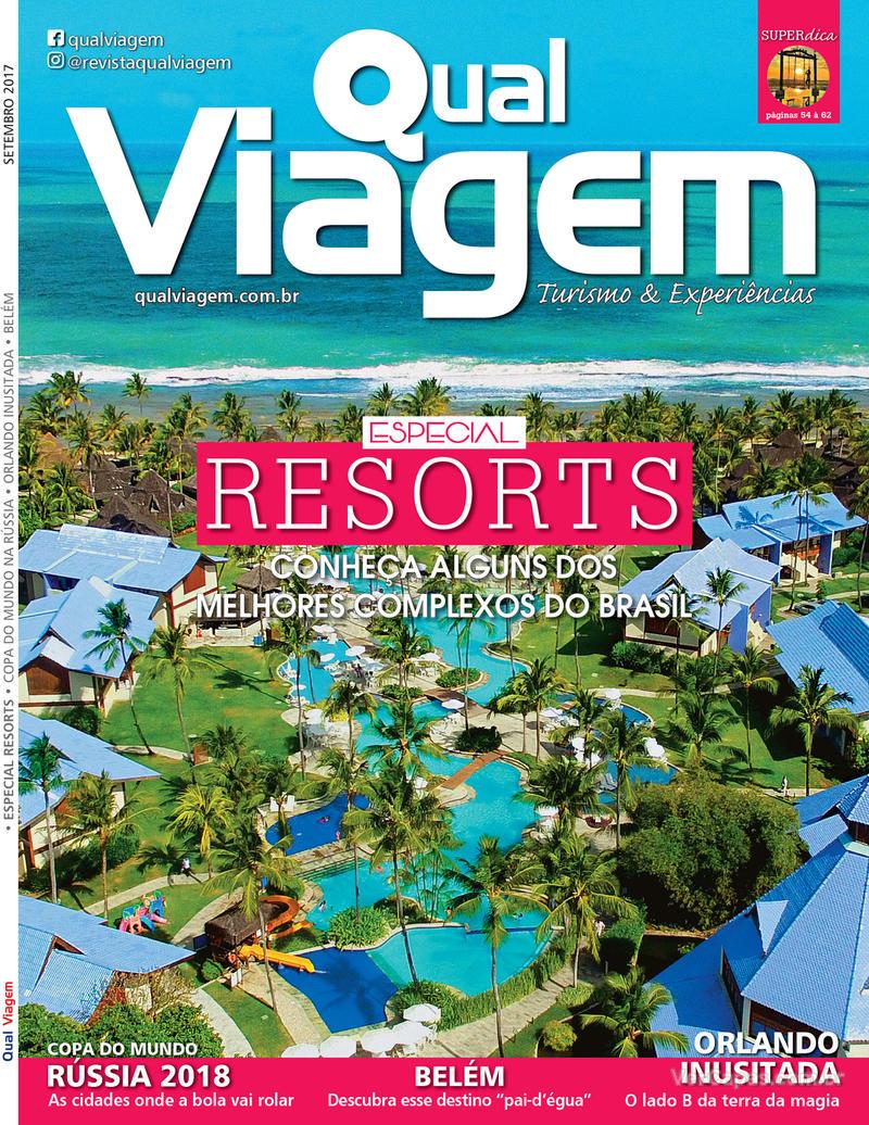 Capa revista Qual Viagem 05/09/2017