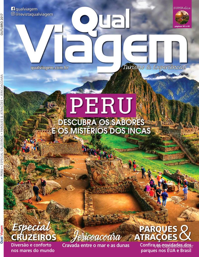 Capa revista Qual Viagem 05/10/2017