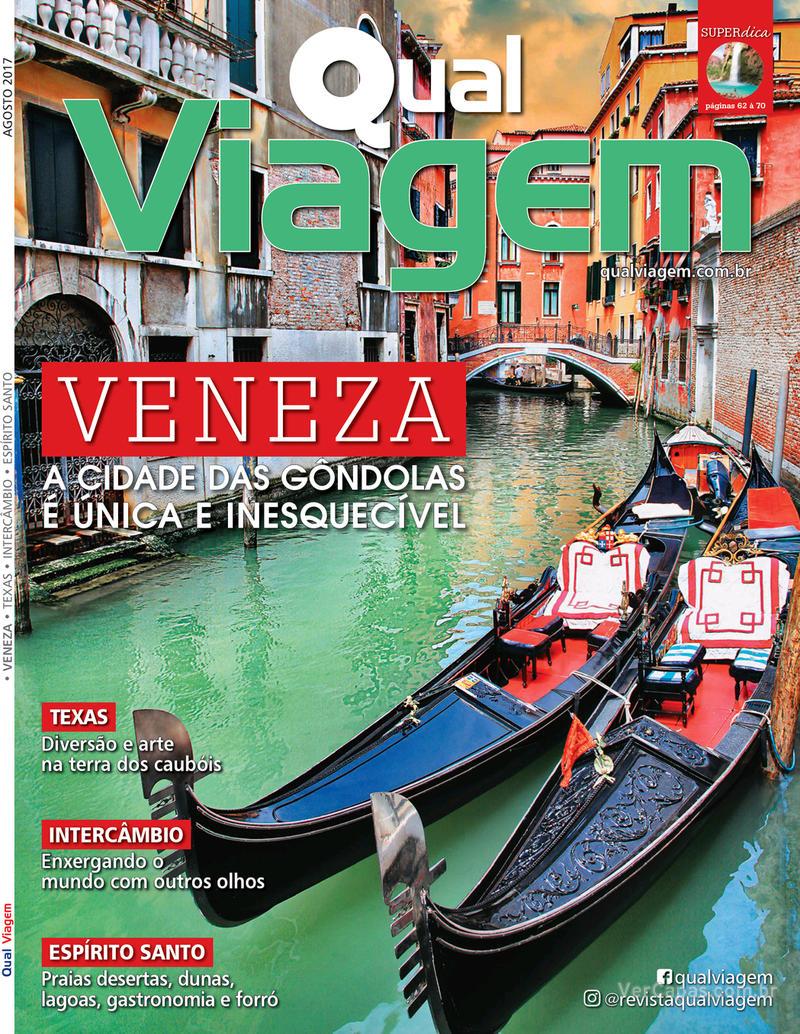 Capa revista Qual Viagem 05/08/2017