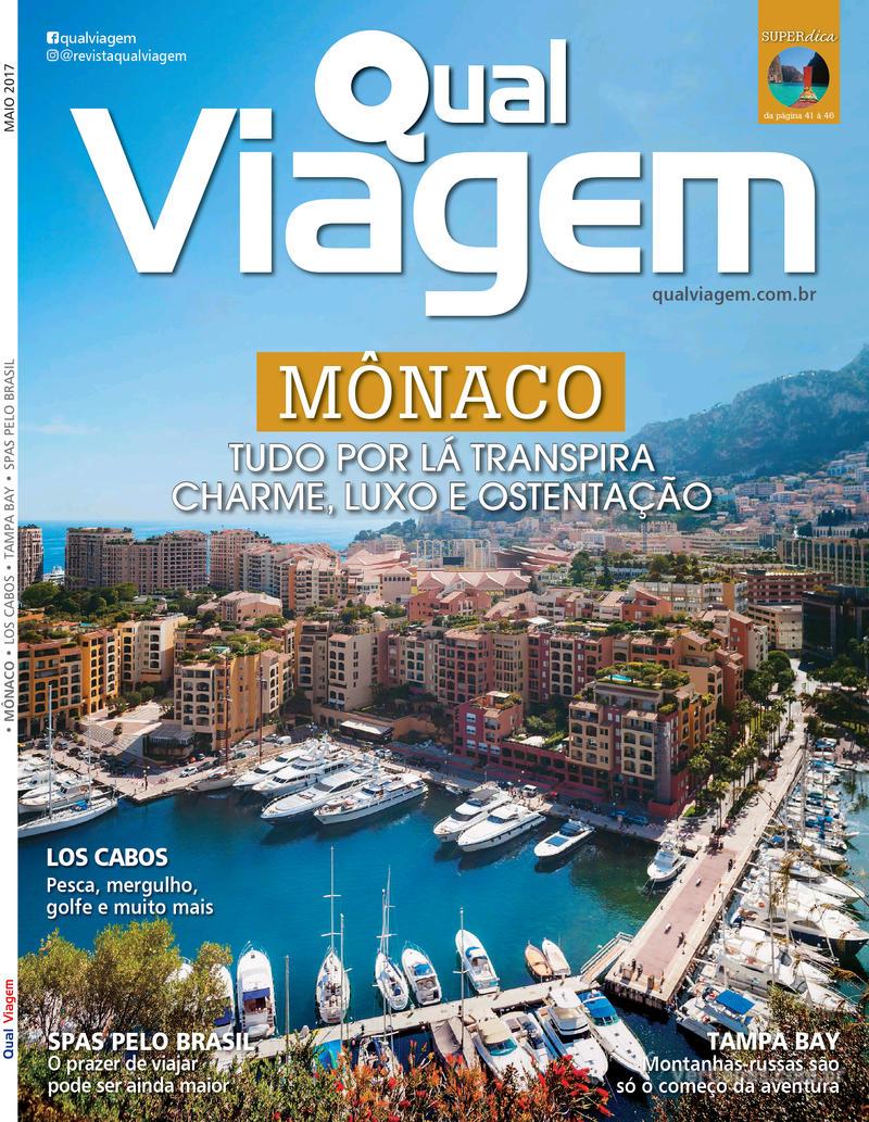 Capa revista Qual Viagem 09/05/2017