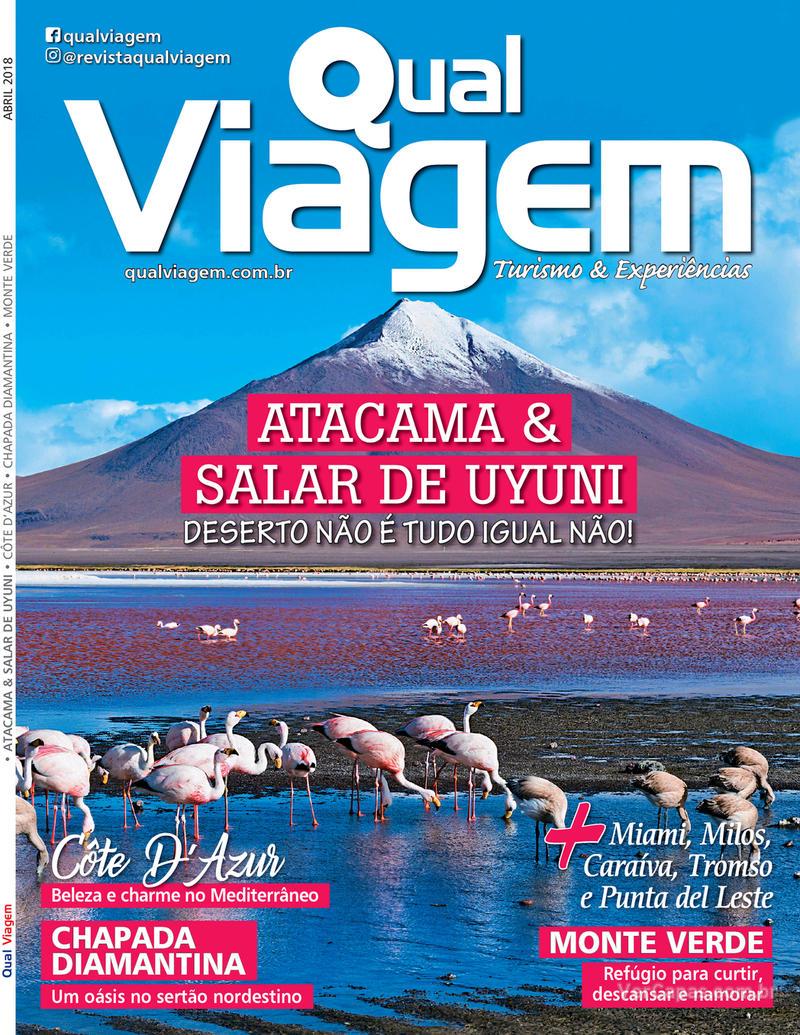 Capa revista Qual Viagem 05/04/2018