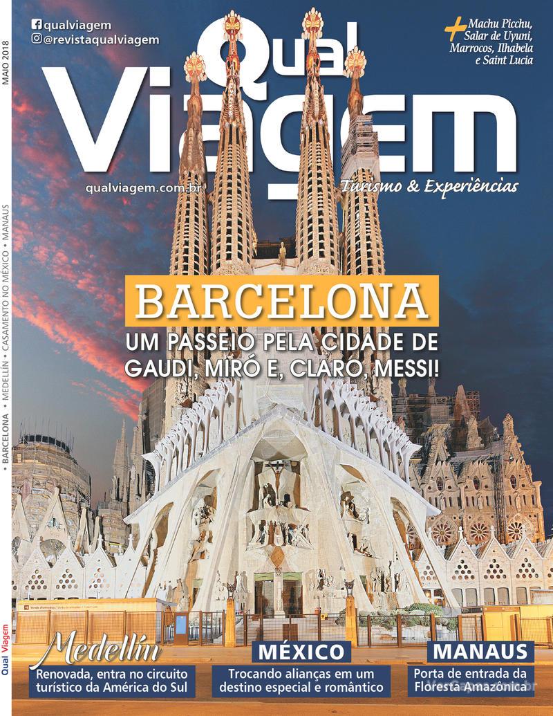 Capa revista Qual Viagem 02/05/2018
