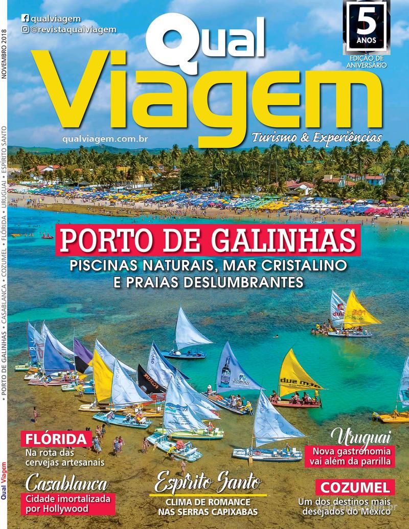 Capa revista Qual Viagem 05/11/2018