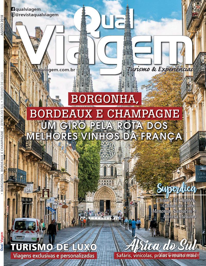 Capa revista Qual Viagem 05/08/2018