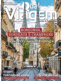 Capa da revista Qual Viagem 05/08/2018