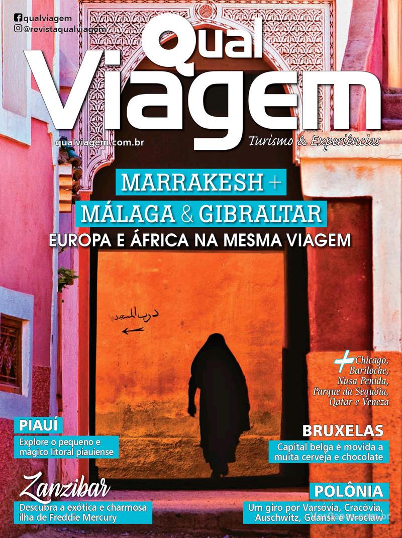 Capa revista Qual Viagem 05/02/2019