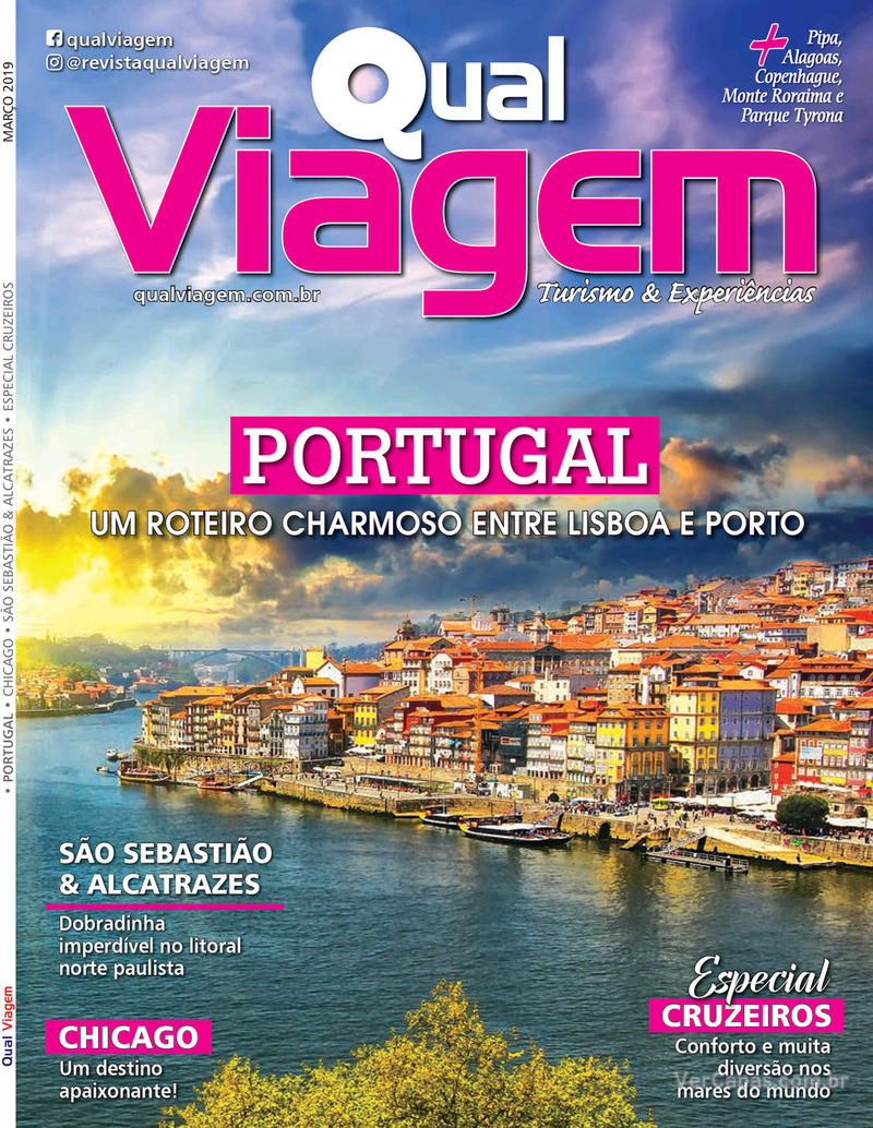 Capa revista Qual Viagem 07/03/2019