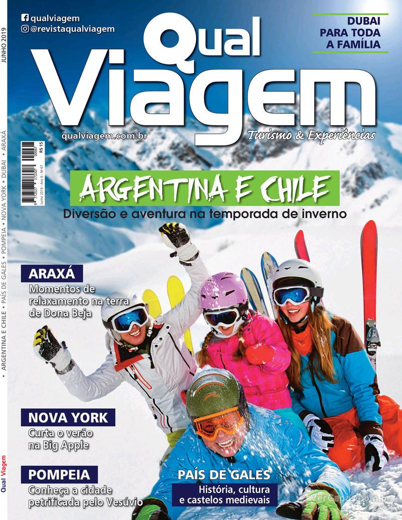 Capa da revista Qual Viagem 05/06/2019